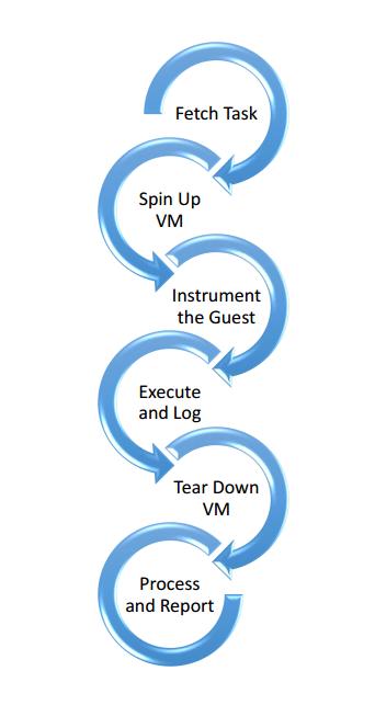 Working Process of Cuckoo