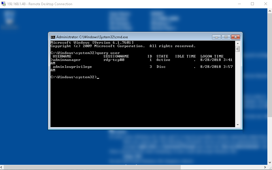Password-less Remote Desktop Protocol (RDP) Session Hijacking
